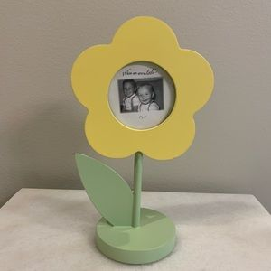 Wooden Yellow Flower Picture Frame